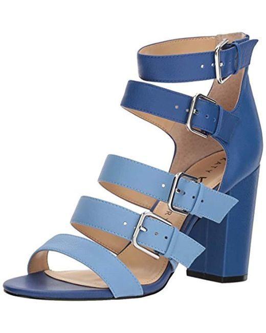 Katy Perry - Blue The Lizette Heeled Sandal - Lyst