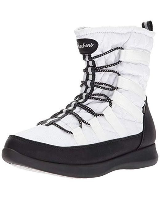 bc8a5489c4ad1 Skechers - Black Boulder Snow Boot - Lyst ...