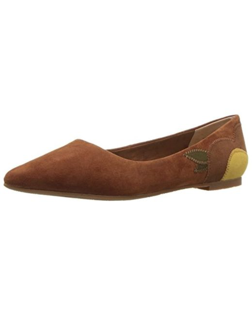 Seychelles - Brown Director Ballet Flat - Lyst