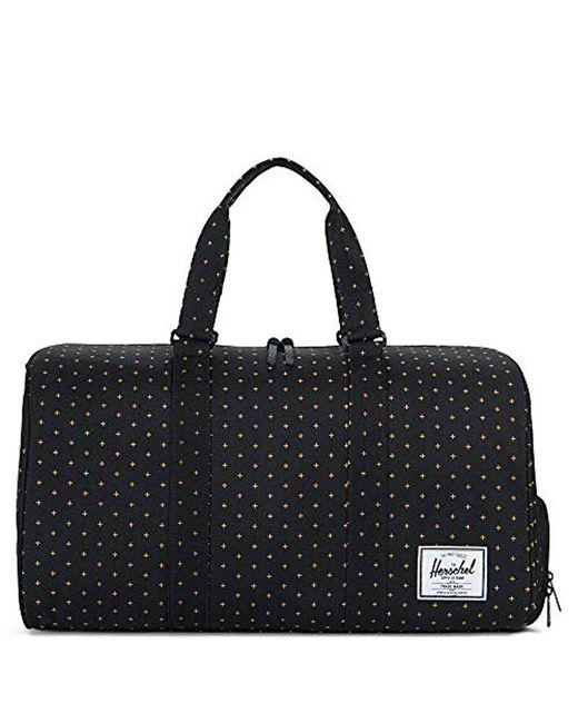 Lyst - Herschel Supply Co. Novel Duffle Bag in Black for Men - Save ... 135c452618dcd