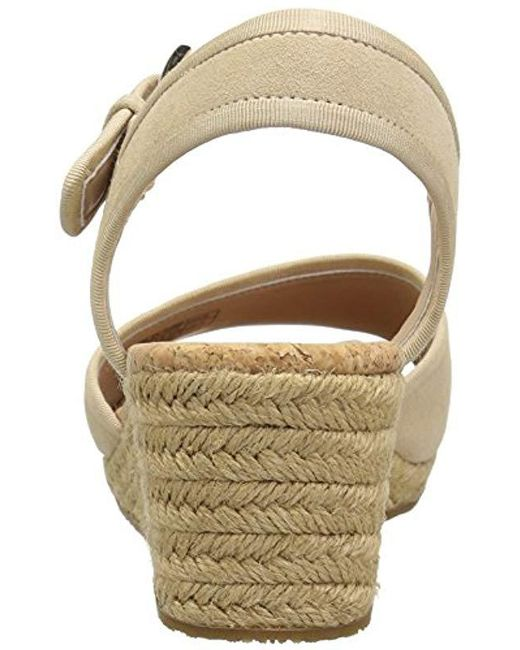 1ffc2744806 Lyst - UGG Maybell Wedge Sandal - Save 33%