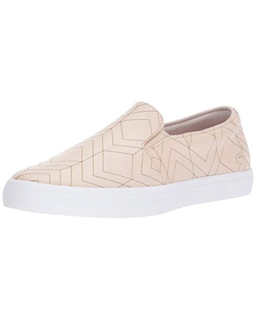 Lacoste - Pink Gazon 417 1 Sneakers - Lyst