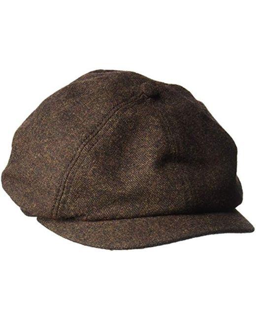 Goorin Bros - Brown Peter Baker Wool Blend Ivy Newsboy Hat for Men - Lyst