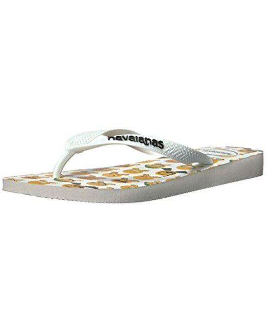 94d1d13e5 Havaianas - White Flip Flops Sandal