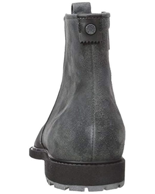 online store website for discount pre order Men's Gray Boss Orange Cultural Roots Suede Zip Boot Fashion