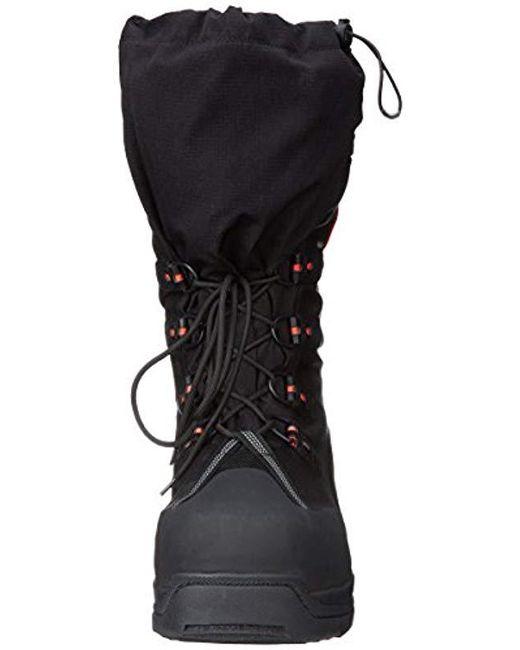 197caf709b8 Sorel Intrepid Explorer Extreme Snow Boot in Black for Men - Save 56 ...