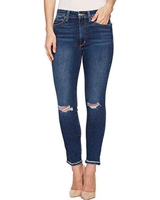 c9b054486d68 Lyst - Joe s Jeans Charlie High Rise Skinny Crop Jean in Blue - Save 61%