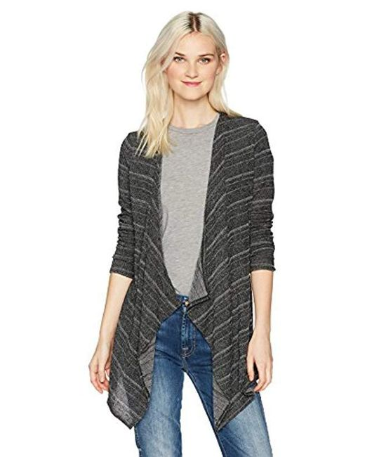 Volcom - Black Lived In Go Sweater Wrap - Lyst