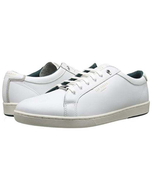 2cbe157fb3844 Lyst - Ted Baker Theeyo 3 Fashion Sneaker in White for Men - Save ...