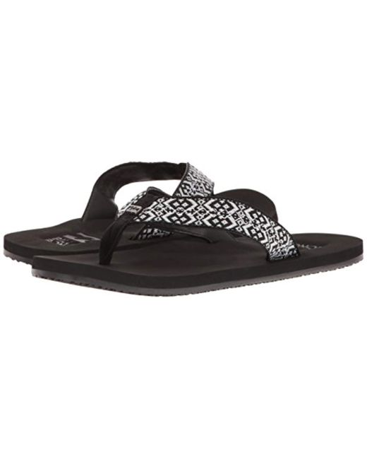 de5f0c3c453f Lyst - Billabong Baja Flip Flop in Black - Save 34%