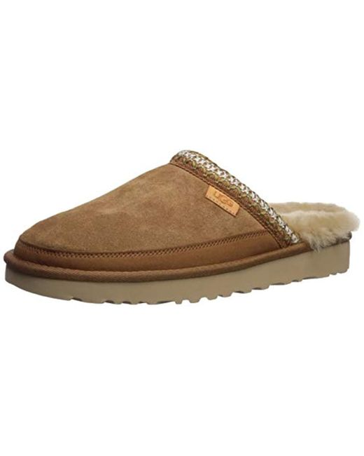 Ugg Brown Tasman Slip-on Slipper for men