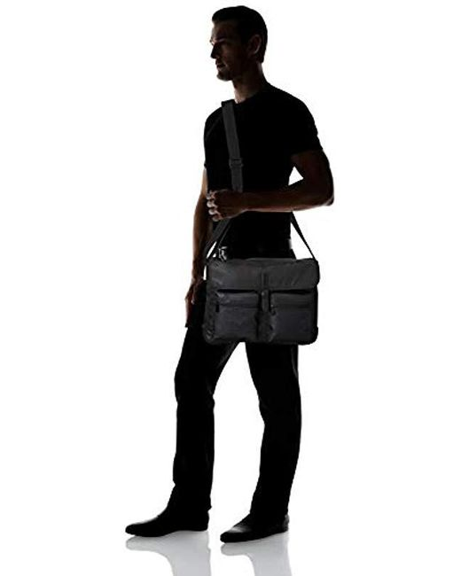 66697b98ff5a Lyst - Fossil S Buckner Messenger Bag in Black for Men - Save ...