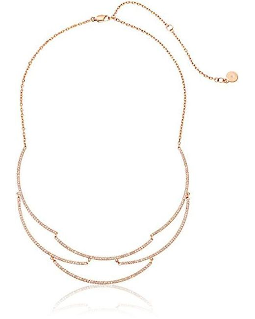 Michael Kors - Metallic S Wonderlust Statement Necklace - Lyst