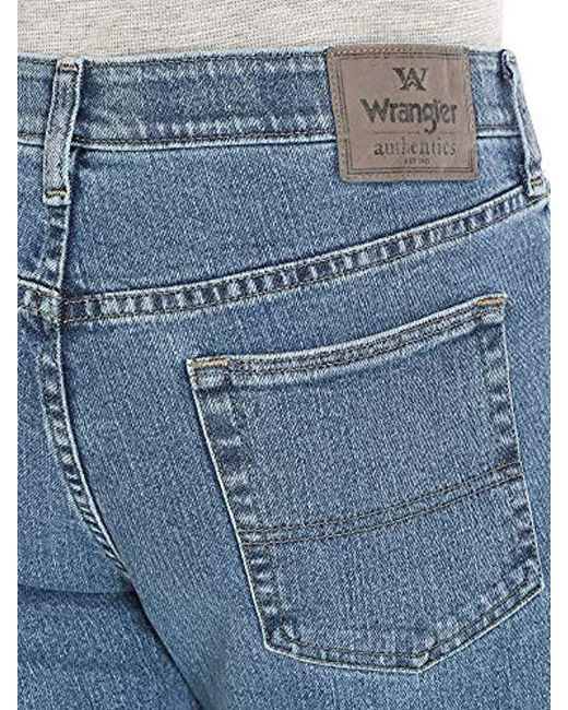 172e3efb ... Wrangler - Blue Authentics Comfort Flex Waist Relaxed Fit Jean for Men  - Lyst ...