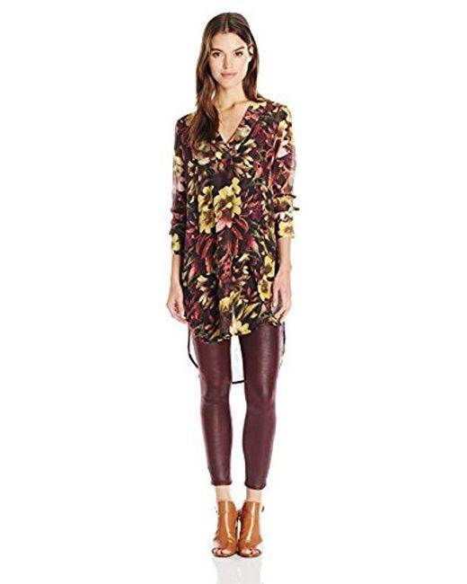 Catherine Malandrino Multicolor Dani Blouse-winter Floral