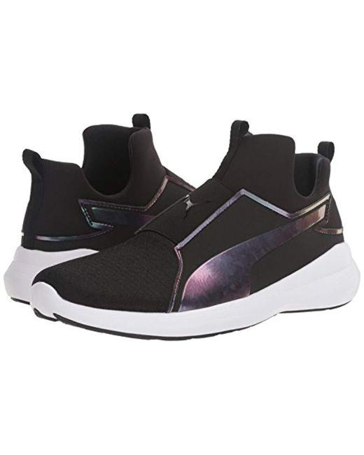 2ec0aca06835 Lyst - PUMA Rebel Mid Wns Swan Cross-trainer Shoe in Black - Save 10.0%