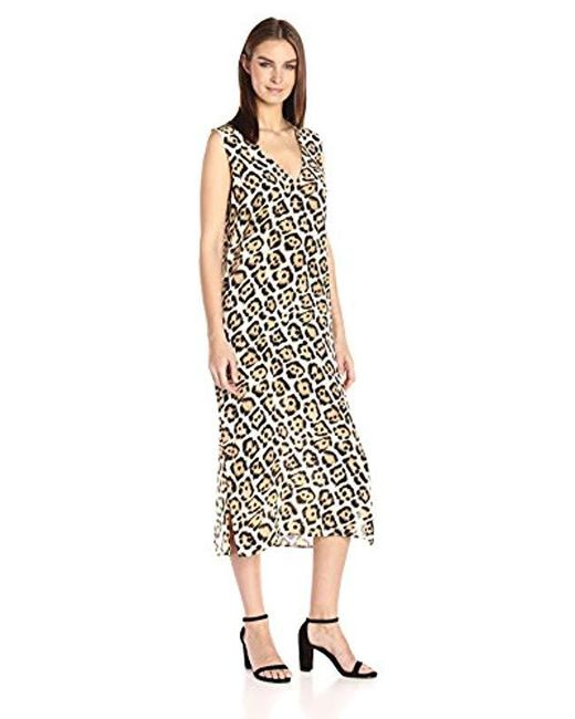 Equipment - Multicolor Connery Leopard Dress - Lyst