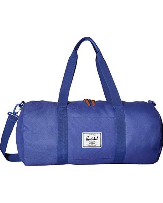 8c9f0f799f44 Herschel Supply Co. - Blue Sutton Mid-volume Duffle Bag for Men - Lyst ...