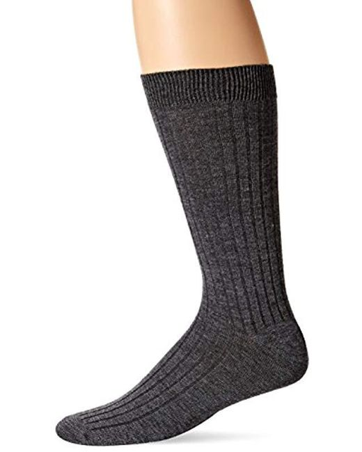 29da8a1d5a0a Lyst - Ecco Merino Wool Dress Sock in Gray for Men - Save 27%