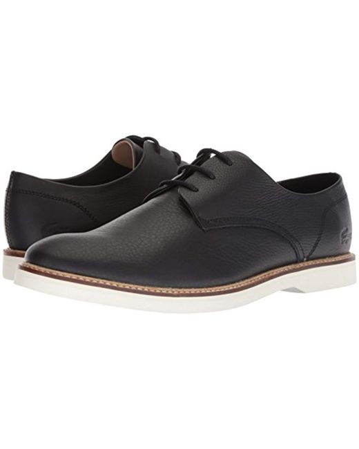58c7d357e3e Lyst - Lacoste Sherbrooke Oxford in Black for Men - Save 39%