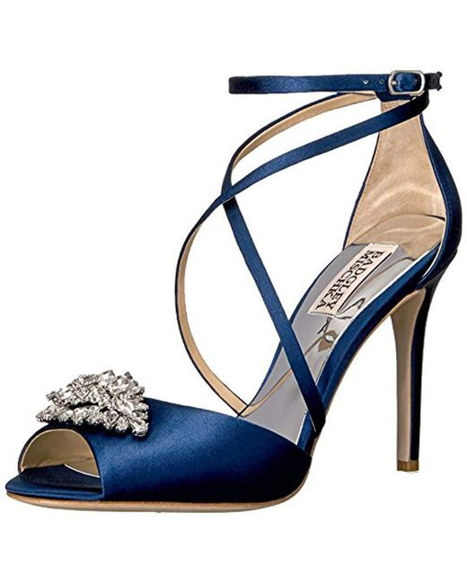 b2a753fb635 Badgley Mischka - Blue Tatum Dress Sandal - Lyst ...