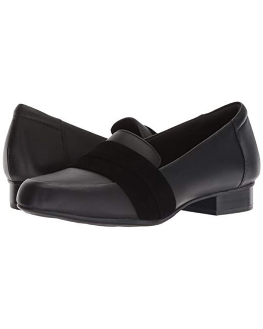 e98a3e772a0d Lyst - Clarks Juliet Rose Loafer in Black - Save 60%