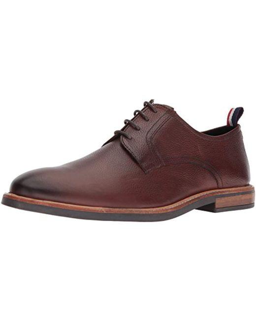 Ben Sherman - Brown Birk Plain Toe Oxford for Men - Lyst