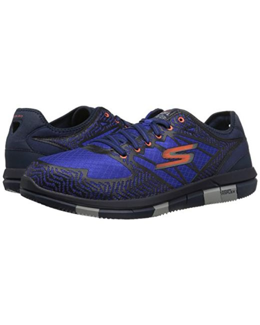 27fac990a4c0 ... Skechers - Blue Performance Go Flex Aviator Walking Shoe for Men - Lyst  ...