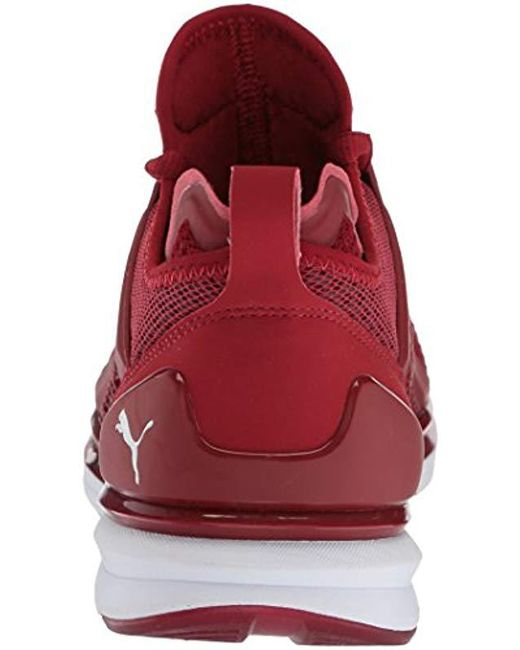 1ecdf501f PUMA Ignite Limitless Weave Sneaker in Red for Men - Save 45% - Lyst