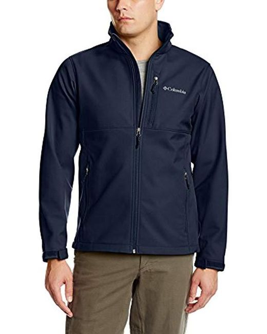 Lyst - Columbia Ascender Softshell Jacket, Water & Wind ...