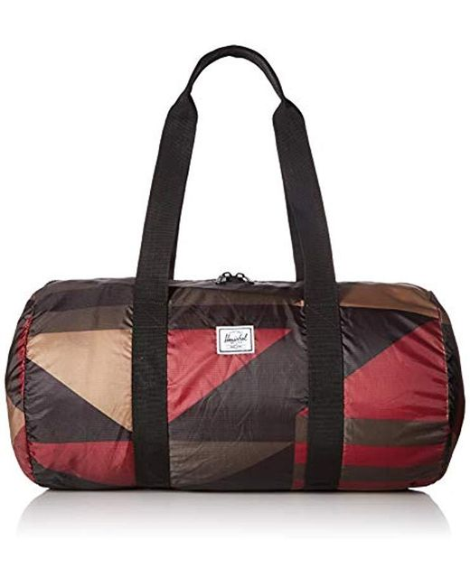 5f7f4f267314 Herschel Supply Co. - Multicolor Packable Duffel Bag for Men - Lyst ...