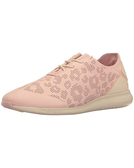 Cole Haan - Pink Studiogrand P&g Trainer Fashion Sneaker - Lyst