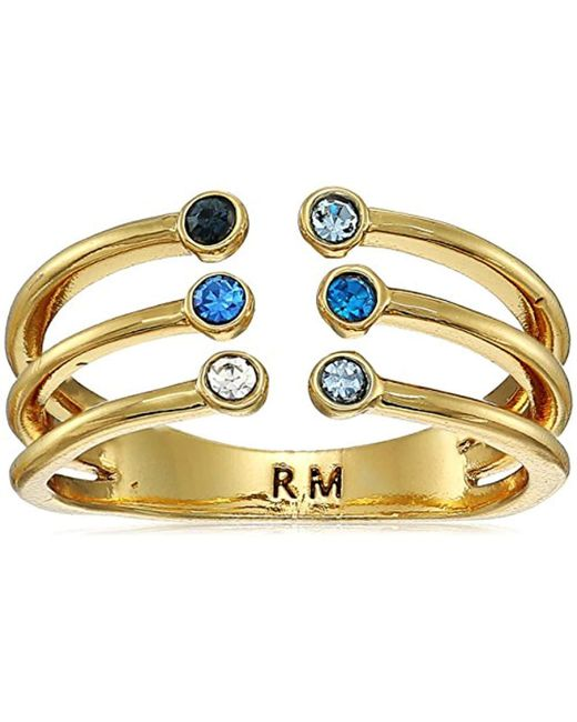 Rebecca Minkoff - Metallic Ombre Bubble Claw Ring - Lyst