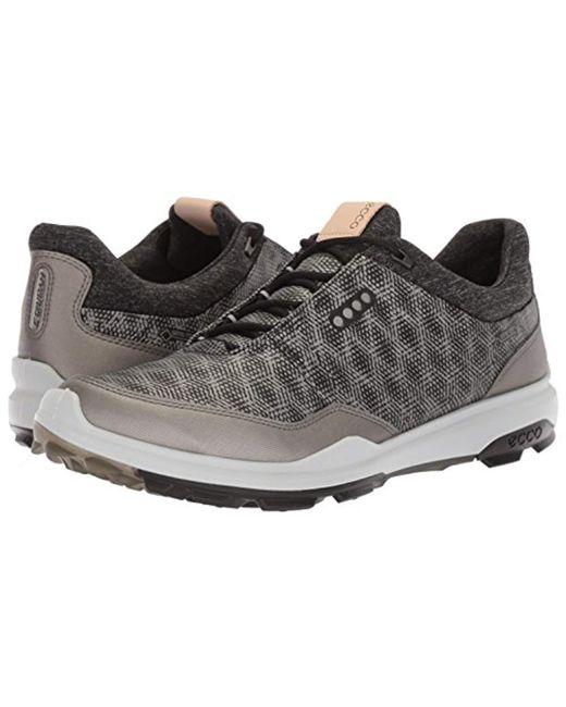 0692fc76dca56 ... Ecco - Black Biom Hybrid 3 Gore-tex Golf Shoes for Men - Lyst ...