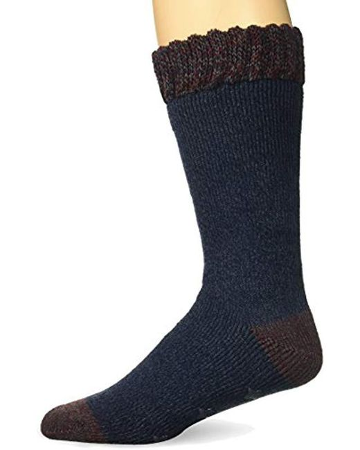 Timberland - Blue Cabin Sock Basic Marled Cuff for Men - Lyst