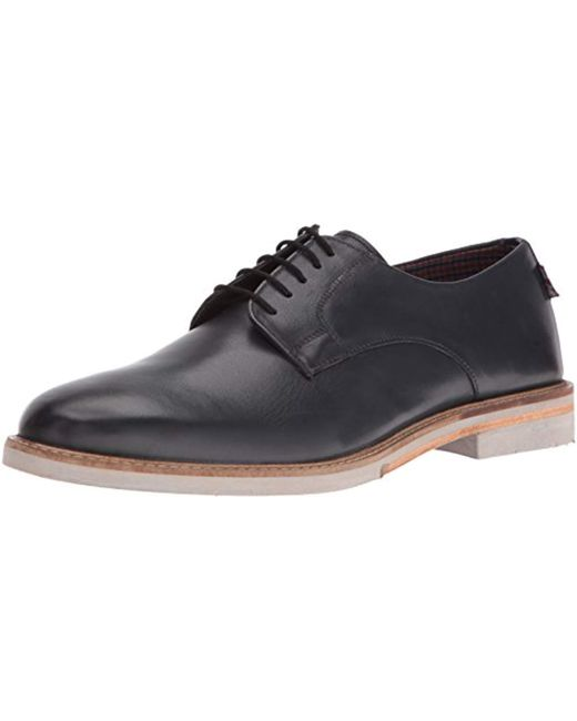 Ben Sherman - Gray Julian Plain Toe Oxford for Men - Lyst