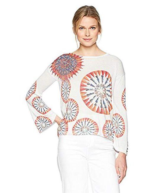 Desigual - Multicolor Valeri Pullover Sweater - Lyst