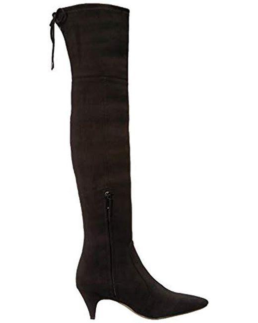 2403bb1e629 ... Sam Edelman - Black Kristie Over The Over The Knee Boot - Lyst ...