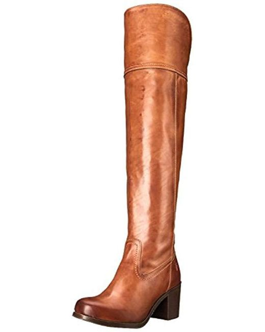 Frye - Brown Kendall Over The Kneesfg Engineer Boot - Lyst