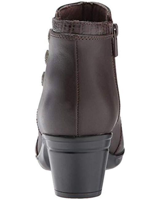 132c86b6fd3 Lyst - Clarks Emslie Monet Ankle Bootie in Brown - Save 13%