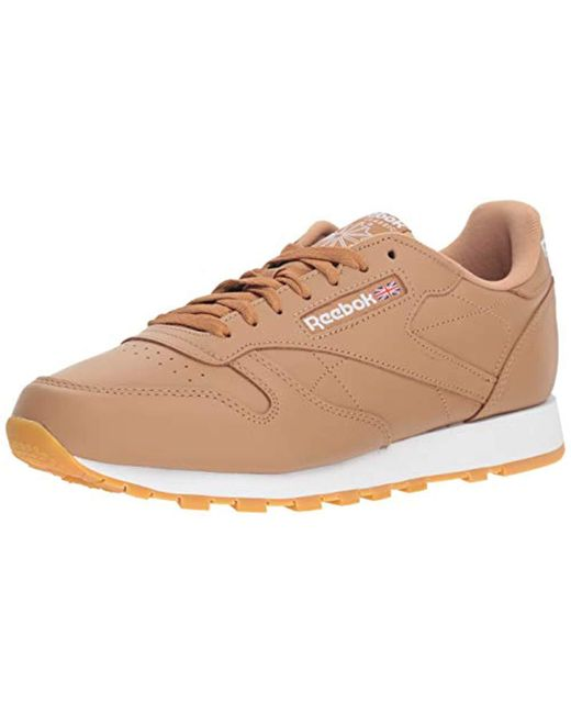 Reebok - Natural Classic Leather Sneaker for Men - Lyst