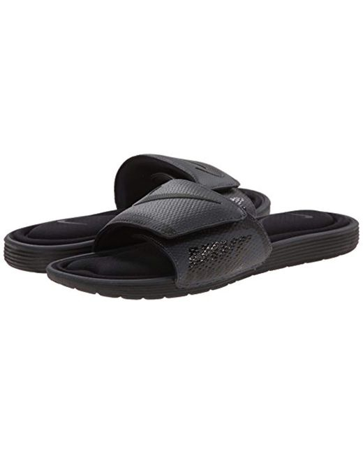 82f768dcd44e Lyst - Nike Solarsoft Comfort Slide Sandal in Black for Men - Save 15%