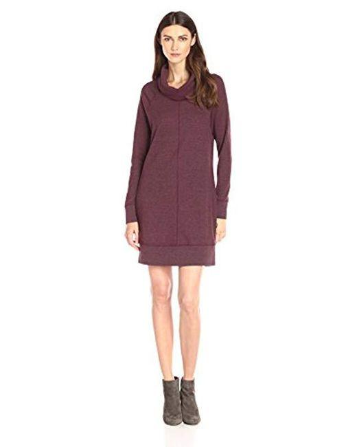 Woolrich - Purple Fairmount Waffle Dress - Lyst
