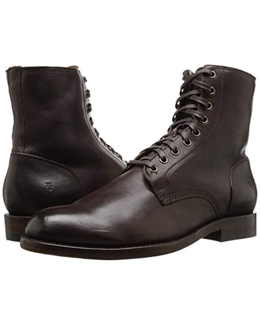 Lyst 5 Lace In Us Combat D Up Boot Will Frye 11 Dark Brown SjMzqUGLVp