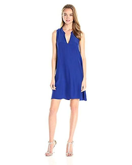 Amanda Uprichard - Blue Kit Dress - Lyst