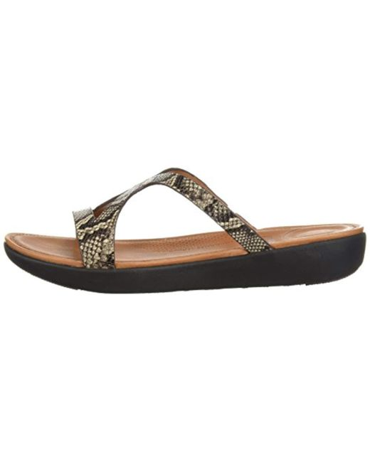 d682da063 ... Fitflop - Multicolor Strata Slide Sandals - Lyst ...