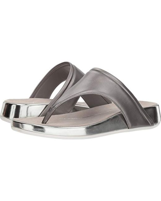 Easy Spirit - Metallic Aggy3 Sandal - Lyst