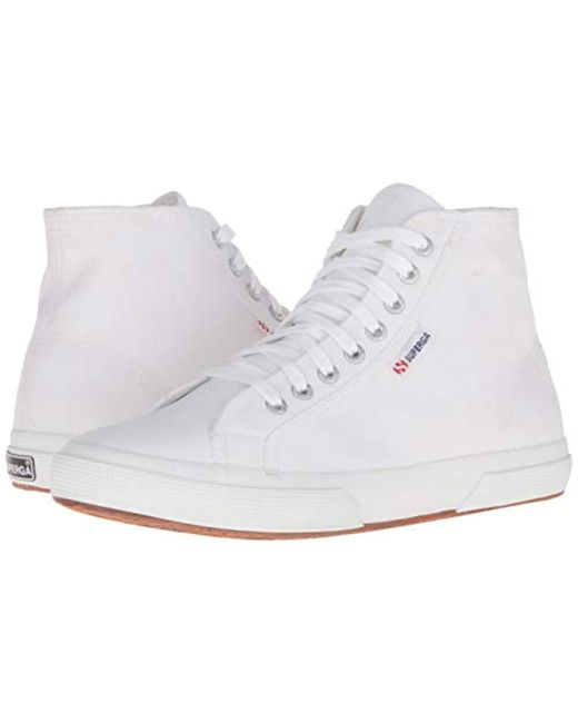 3ee052c17534 Lyst - Superga 2750 Cotu Classic Fashion Sneaker in White - Save ...