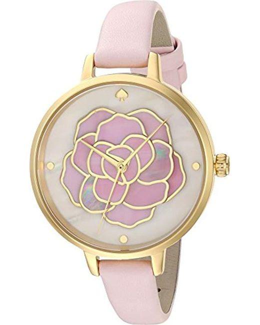 Kate Spade - Multicolor S Rose Metro Watch - Ksw1257 - Lyst