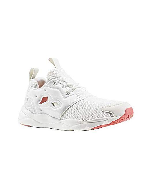 Reebok - White Furylite Sole Running Shoe - Lyst